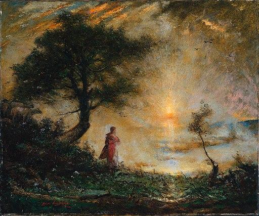 Elliott Daingerfield - Landscape (c.1918)