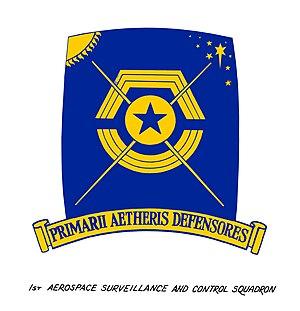 1st Aerospace Control Squadron - Official 1st Aero Emblem