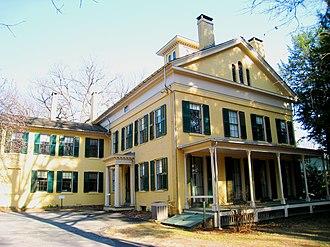 Emily Dickinson Museum - Dickinson Homestead, home of poet Emily Dickinson