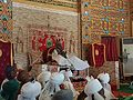 Emir of Kano on his throne 092016.jpg