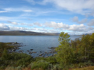 Lake Kilpisjärvi