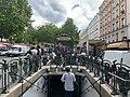 Entrée Station Métro Alexandre Dumas Paris 2.jpg