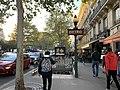 Entrée Station Métro Cluny Sorbonne Paris 3.jpg