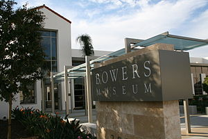 Bowers Museum - Main Street Entrance