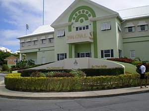Entrance to 3Ws Oval, Cave Hill Campus.jpg