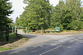 Entrance to West Walk car park, Forest of Bere, nr Wickham - geograph.org.uk - 234424.jpg