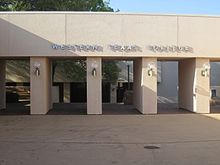 Entrance to Western Texas College, Snyder, TX IMG 1779.JPG