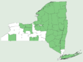 Epilobium leptophyllum NY-dist-map.png