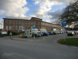 Epsom Hospital - Image: Epsom Hospital