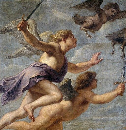 Erasmus Quellinus (II)- La persecución de las Harpías, 1630
