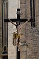 Erfurt, Dom, Kruzifix auf Vorplatz-002.jpg