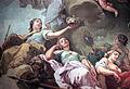 Erhebung des Großen Kurfürsten in den Olymp (van Loo) - Herrschaft, Clementia, Justitia, Prudentia.jpg