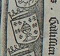 Escudo da Galiza na gravura de Jan van Nieulandt (c. 1521-1526).jpg