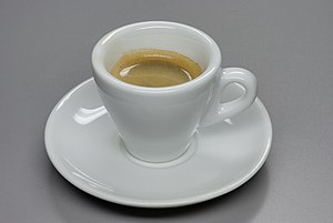 Deutsch: Ein Tasse Espresso English: A cup of ...
