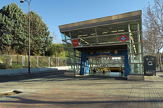 Arroyo Culebro (Madrid Metro) - Image: Estación de Arroyo Culebro