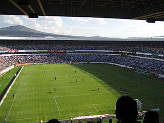 Estadio Corregidora football (soccer) stadium in Querétaro, Querétaro, Mexico, home venue for Querétaro FC