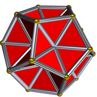 Excavated dodecahedron