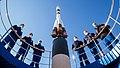 Expedition 64 Cosmonaut Hotel Soyuz Rocket (NHQ202010060021).jpg