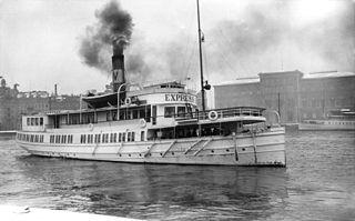 SS <i>Waxholm</i> (1909) Swedish steamship built in 1909