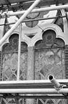 exterieur (tijdens restauratie), middenbeuk, venster - delft - 20283031 - rce