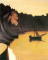 Félix Vallotton - Honfleur, Der Hafen bei Abendlicht.png