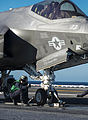 F-35C launch from USS Nimitz (CVN-68) in November 2014 (01).JPG