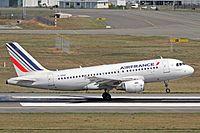 F-GRHF - A319 - Air France