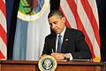 FEMA - 42519 - President Barack Obama signs a Memorandum of Understanding for tribes.jpg