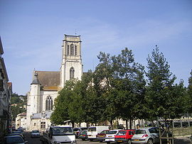 The Cathedral of Saint-Caprais in Agen