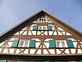 Fachwerkgiebel, Haslach (Timber-framed Gable) - geo.hlipp.de - 22682.jpg