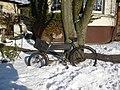 Fahrrad im Schloßpark Moers - panoramio.jpg