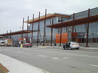 airport in Fairbanks, Alaska, USA