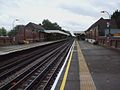 Fairlop station look south.JPG