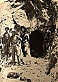 Fairview Nevada miners examining mine 1900.jpg