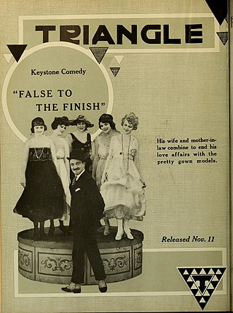 Triangle Film Corporation - Image: False to the Finish
