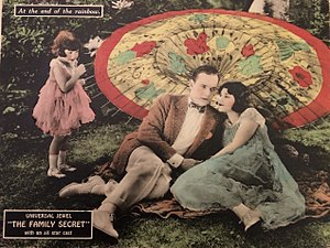The Family Secret (1924 film) - Lobby card