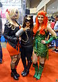 Fan Expo 2014 - Harley Quinn, Catwoman & Poison Ivy (14951335178).jpg