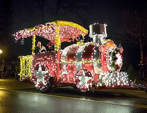Howell, Michigan - Winner of the 2015 Fantasy of Lights Parade