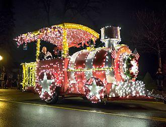 Howell, Michigan - Winner of the 2015 Fantasy of Lights Parade