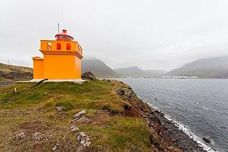 Bolungarvík - Image: Faro de Bolungarvík, Vestfirðir, Islandia, 2014 08 15, DD 052