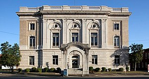 United States Post Office Building (Selma, Alabama) - The building in 2010