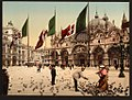 Feeding Pigeons in St. Mark's Place, Venice, Italy LOC 4755201714.jpg
