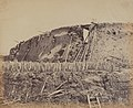 Felice Beato, Angle of North Taku Fort at Which the French Entered, August 21, 1860, 1860, NGA 163371.jpg