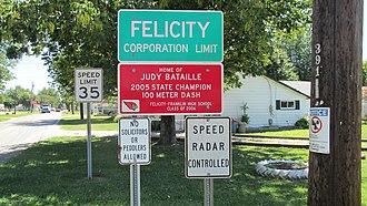 Felicity, Ohio - Image: Felicity OH1