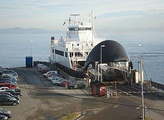 Flakk–Rørvik Ferry - Ferry at Rørvik