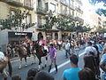 Festa Major de Gràcia 2011 - colles de Sant Medir - XIII cercavila de cultura popular - carrer Gran P1330053.jpg