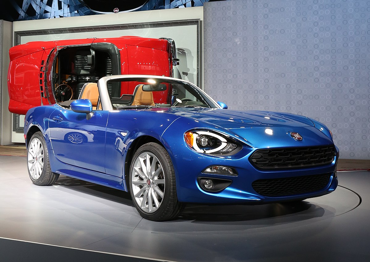 Fiat 124 spider 2016 wikipedia for Fiat 124 spider motor