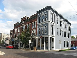 Oregon Historic District - Commercial architecture in the district