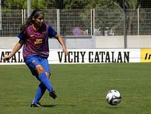 Kenti Robles - Image: Final Copa Catalunya Femenina RCDE 0 – 1 FCB (2)