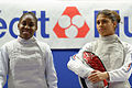 Final women foil French Fencing Championship 2013 n01.jpg